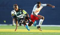Kennedy Boateng (Ried) und Patson Daka (Liefering). Photo- GEPA pictures Matthias Hauer