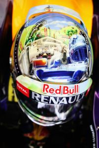 Austrian GP Helm Vettel (c) Getty Images