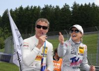 David Coulthard und Susi Wolff (c) Chris Maier.jpg