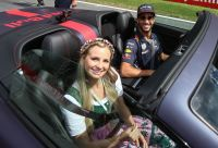 F1 GP AUT 2017 Ricciardo Aston Martin Race Taxi (c) GEPA Pictures Red Bull Content Pool.jpg