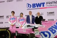 BWT Racing Point F1 car launch (c) Maier